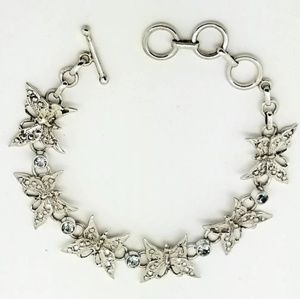 Jewelry - Butterfly Blue Topaz Bracelet